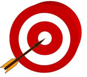 Target & arrows 3D