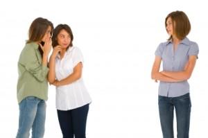 Gossiping teens Ambro