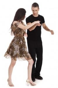Couple dancing Photostock
