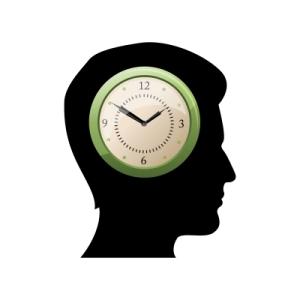 Clock head digitalart