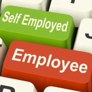 Self employed v employee