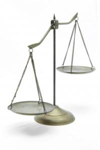 balance scales by Vichaya Kiatying-Angsulee