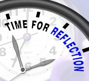 TIme for reflection Stuart Miles